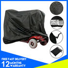 Heavy Duty Waterproof Black Large Mobility Scooter Cover Dust Protection UK