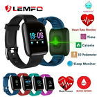 Lemfo Smart Watch Band Fitness Tracker Heart Rate Blood Pressure Sports Bracelet