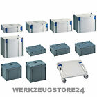Tanos Classic Systainer Gr. 1, 2, 3, 4, 5 anthrazit lichtgrau Rollbrett SYS-Cart