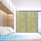 Glass Self Adhesive Film Window Frosted Sticker Privacy Waterproof Home Decor