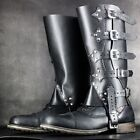 Men Gaiters Hiking Gaiters Steampunk Artificial Stylish Cowboy Cosplay фото