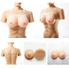 False Boobs Enhancer Silicone CrossDresser Bra Breast Forms Fake Breast Costume