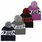 Benross Unisex Golf Bobble Knited Turn Edge Hat 41% OFF RRP