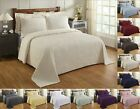 Better Trends Julian 100% Cotton Tufted Chenille Bedspread Assorted Sizes Colors image