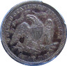 1874-S Seated Quarter, Challenging San Francisco Date, Pleasing Patina PCGS XF40