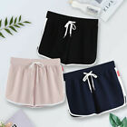 Women's Sexy Drawstring High Waist Athletic Shorts Gym Running Yoga Hot Pants