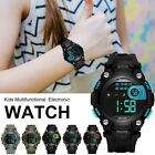 Kids Student Waterproof Sport Date LED Electronic Digital Watch For Girl Boy US image