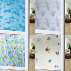 US Self Adhesive Glass Film Window Sticker Bathroom Glass Sticker PVC Frosted 41