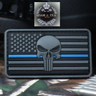 SHOT SHOW Patch Skull American Flag Stars  PVC Tactical Military Morale Badge