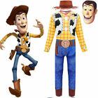 Toy Story 4 Buzz Lightyear Woody Jessie Hoodies Pants Costume Outfit Fancy Dress