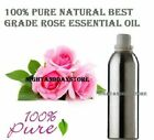 Rose Essential Oil Pure Natural Organic 10 ml - 500 ml Therapeutic Aromatherapy