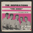 INSPIRATIONS: The Genie / The Feeling Of Her Kiss 45 (PS, close to M-, nice co