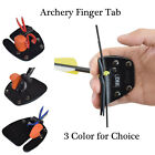 Archery Finger Tab Finger Protector Tab for Recurve Bow Right Handed 3 Color