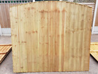 Top Quality Arch Top Vertical Board Feather Edge Treated Garden Fence Panels