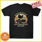 FREE SHIP! Woodstock 50Th Anniversary 1969-2019 Tshirt Music Vintage T-shirt US image