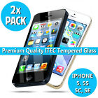 ITEC Gorilla Tempered Glass Screen Protector Cover for New iPhone 5 5s 5c SE