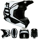 New 2020 Fox Racing Youth V1 Prix Helmet Black All Sizes UTV ATV MX