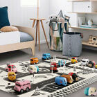 28Pcs/Set Kids Car City Road Play Mat Carpet Traffic Signs Blocks Education Toy