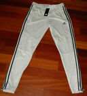 NEW Adidas Tiro 19 Women's Training Pants Climacool/Soccer DZ6180 Raw White/Grey