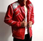 Michael Jackson MJ Thriller/Beat it/Billie Jean Jacket Coat Costume Free Glove