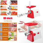 Luxury White Electric Meat Grinder Mincer Sausage Stuffer Stainless Steel Maker