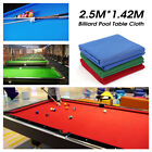 Professional 7ft/8ft Table Billiard Pool Table Cloth Felt Mat Cover Indoor Games $30.99 USD on eBay
