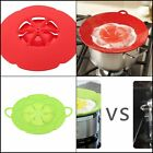 Bloom Multi-purpose Lid Silicone Cover And Spill Stopper For Pot And Pan Kitchen