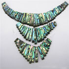 Natural Paua Abalone Shell Diy Jewelry Inlay Material Earrings Real Classic