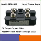 Bridge Rectifier MDQ-100A 100A 1600V Full Wave Diode Module One Phase