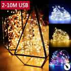 20/30/50/100leds Usb Copper Wire String Fairy Lights Home Xmas Party Decoration