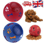 Pet Puzzle Tough-Treat Ball Food Dispenser Dog Rotate Funny Interactive Play Toy