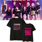 Kpop TWICE T-shirt 2019 WORLD TOUR TWICELIGHTS Concert Tshirt Tee Tops MOMO image