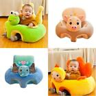 Colorful Baby Learning Sitting Seat Sofa Cover Baby Chair Plush Toys No Liner
