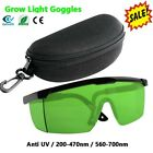 Indoor Hydroponics&Grow Light Room Glasses Goggles Anti UV for HID HPS MH & LED picture
