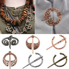 1PC Vintage Medieval Viking Celtic Hollow Cloak Sweater Pin Brooch Clasp Jewelry image