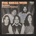 GUESS WHO: Broken / Albert Flasher 45 (Germany, PS, rubber stamp ofc)