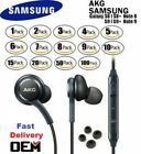 For NEW OEM Samsung S10 S9 S8+ Note 8 AKG Headphones Earphones Galaxy Earbud Lot