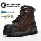 Kyпить ROCKROOSTER Men's Work Boots Composite Toe Wateproof Anti-Puncture Leather Boots на еВаy.соm