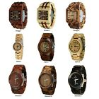 Wood watch-Wooden watch-Men's Women's watch-custom engraving-personalized watch image