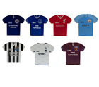 FOOTBALL METAL SHIRT SIGNS { 7 Clubs} Official Club Merchandise