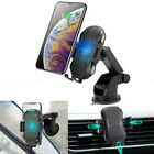 Automatic Clamping Qi Wireless Charging Car Charger Air Vent Mount Phone Holder