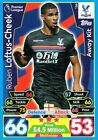 Match Attax  2017-2018 Teams A To L       Individual Trading Cards