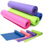 Yoga mat For Fitness Pilates physio Gym Exercise Gymnastics Workout 4 mm thick