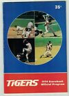 1974 Kansas City Royals (Brett 1 Hit) at Detroit Tigers (Kaline 3 RBI) Program