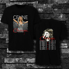 HOT NEW 1Celine Dion 2019 Courage Concert t shirt Tour Dates 2019 image
