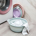 Portable Multifunction Collapsible Wash Basin Foldable Tub for Traveling New