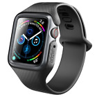 For Apple Watch 5/4/3/2/1 Band Case, Original Clayco Slim Cover w/ Strap Bands image