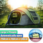 Instant pop up Tent Waterproof Camping 4-6 Person Family Tent Hiking Swag 2Layer