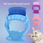 Portable Pet Cats Dog Shell Comb Brush Grooming ABS Cleansing Tools Hair Brush