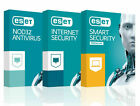 Eset NOD32 Antivirus Internet Security 1/2 Years 1/3/5 PC License key 2019